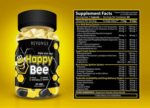 happy bee skład 1