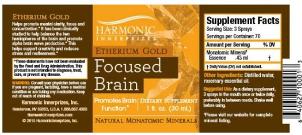 harmonic spray skład