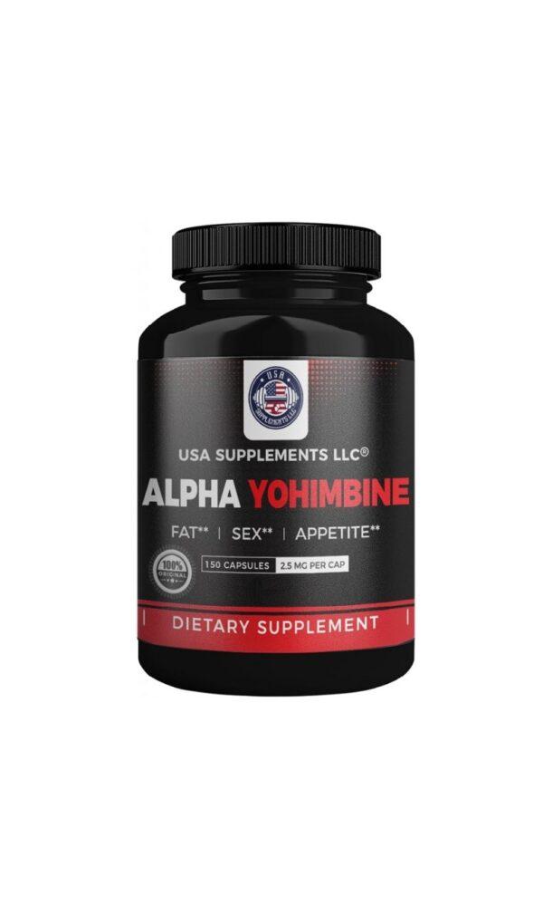 usa supplements alpha yohimbine 2.5mg 150 www
