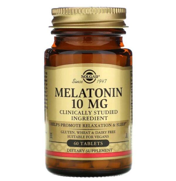 solgar melatonina