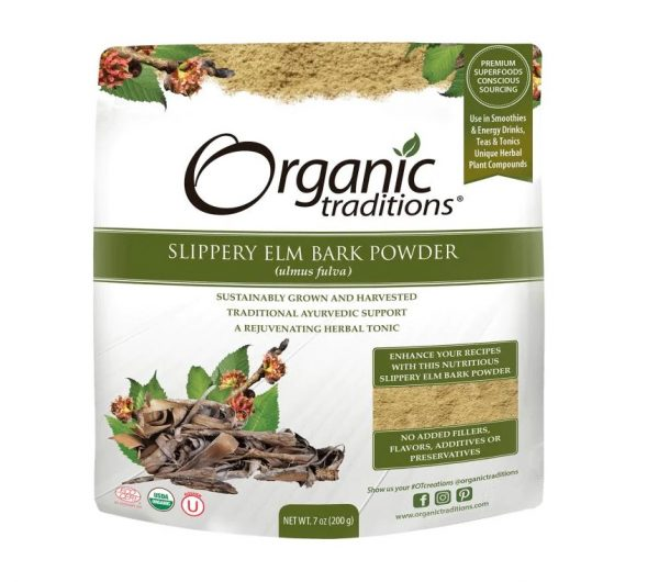 organic traditions slippery elm bark powder